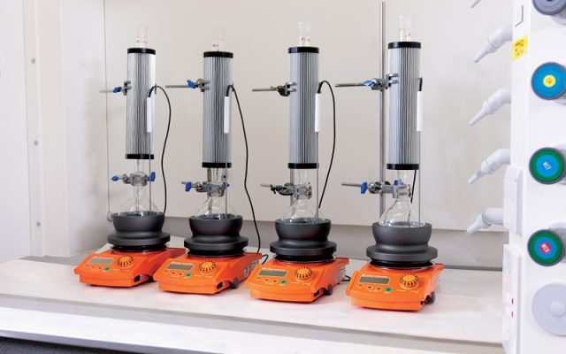 Findenser saves water and prevents laboratory flooding